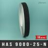 Bande adhésive anti-dérapante noir 25mm