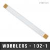 Wobblers Droit X2 adhésifs L 200mm