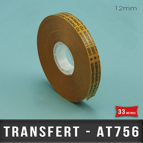 Transfert d'Adhésif pour ATG 12mm X33M