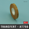 ADHESIF TRANSFERT pour ATG 9mm X33M