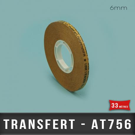 Transfert d'Adhésif pour ATG 6mm X33M