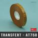 Transfert d'adhésif pour ATG 12m X33M