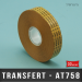 Transfert d'adhésif pour ATG 19m X33M