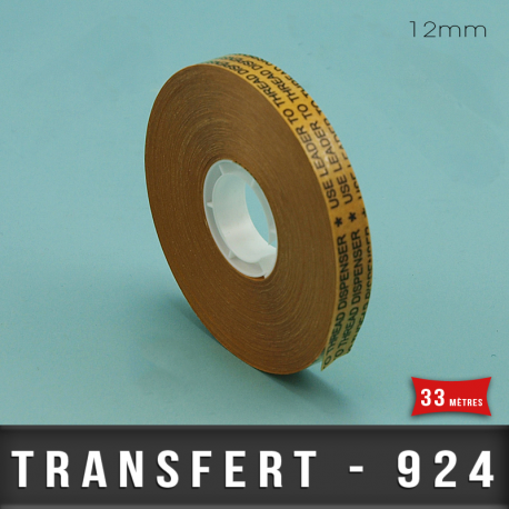 Transfert d'adhésif pour ATG 3M 12mm X33M