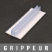 "Gripper adhésif 131-3 en ""T"" 1,5mm"