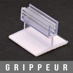 """Gripper adhésif G124-100 en """"T"""" 1,5mm"""