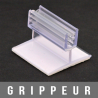 """Gripper articulé adhésif en """"T"""" 1,5mm"""