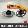 Adaptateur pour rouleaux d'adhésif transfert largeur 6mm