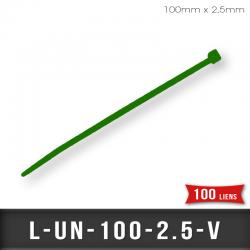 Lien de Fermeture nylon 2,5mm Vert