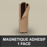 Magnétique  adhésif 1 face 0,6mm