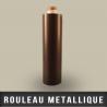 Rouleau metallique recepteur neutre EP 0,4mm