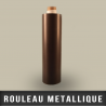 Rouleau metallique recepteur neutre EP 0,4mm