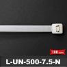 Lien de Fermeture 500mm L7,5mm Naturel