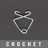 Crochet métal 431 mini 30mm
