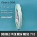 Double face non tissé 50 Ml x 15mm