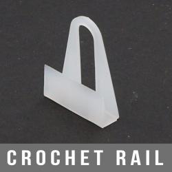 Crochet rail 20X25mm