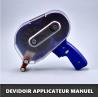 Roller dispenser pour adhésif transfert et pastilles Point de colle - dots