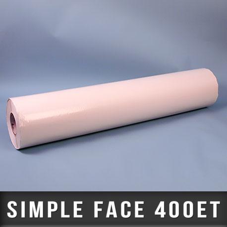 Film simple face transparent 100µ Enlevable