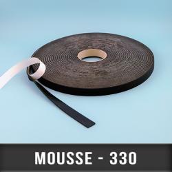 Mousse PVC Ep 3mm avec adhésif
