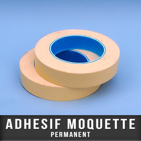 Adhésif moquette permanent