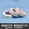 Adhésif moquette enlevable/permanent 50mm X 50ML