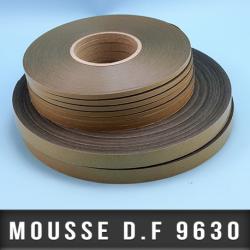 Mousse PE double face adhésive acrylique Ep 0,925mm - Noir