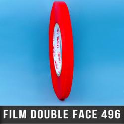 Film double face acrylique 200µ 19mm