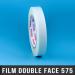 Film double face acrylique 92µ 19mm