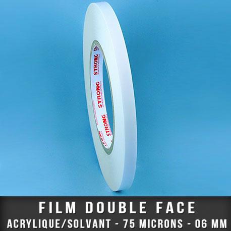 Film double face acrylique 75µ