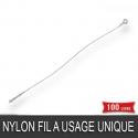 Lien de fermeture Nylon Fil à usage unique