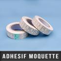 Adhésif moquette