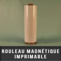 Rouleau magnétique imprimable