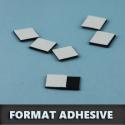 Format magnet adhésif