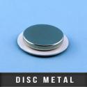 Disc métal adhésif