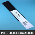 Porte étiquette magnétique