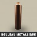Rouleau metallique récepteur