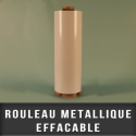 Rouleau metallique blanc effaçable