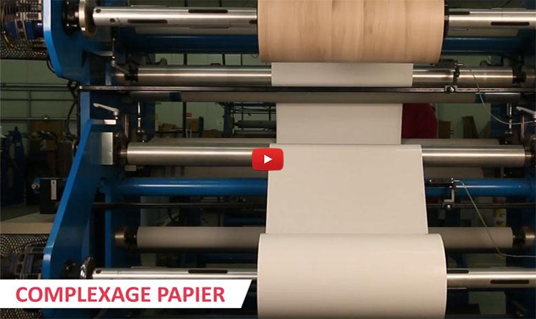 Complexage papier & tissu